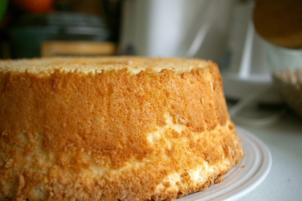 Ricetta torta degli angeli (Chiffon cake)