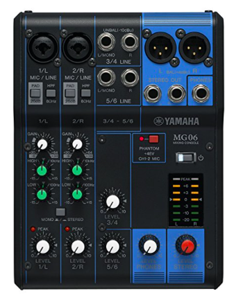 Recensione Yamaha MG6