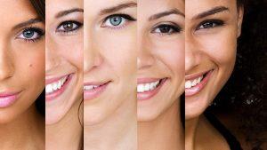i tipi di pelle del viso